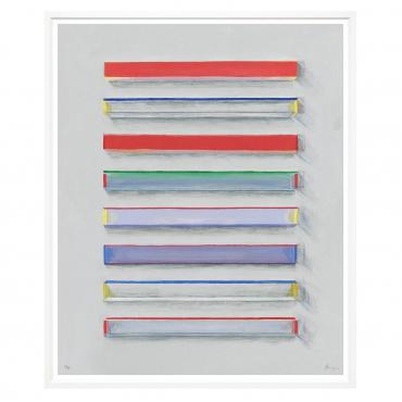 "Фотопринт в раме ""Colourful Horizons"", 117x99 см"