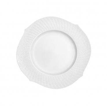"""Набор из двух салатных/десертных тарелок """"Волны"""" , D 22,5 см"""