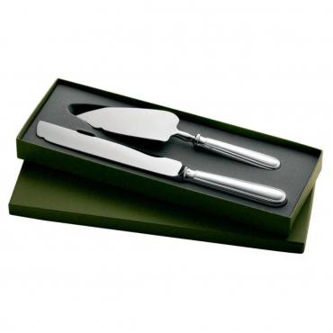 """Подарочный набор: нож и лопатка сервировочные для торта """"Albi"""", l 28 см"""