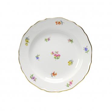 """Десертная тарелка """"Разбросанные цветы"""", D 18 см"""