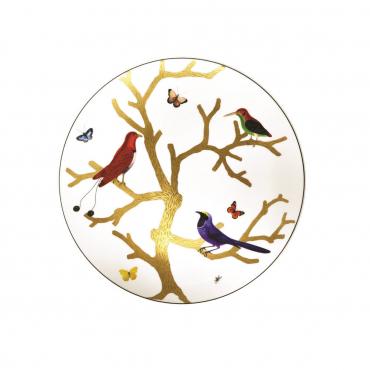 "Салатная тарелка ""Aux Oiseaux Flavonica"", d 21 см"