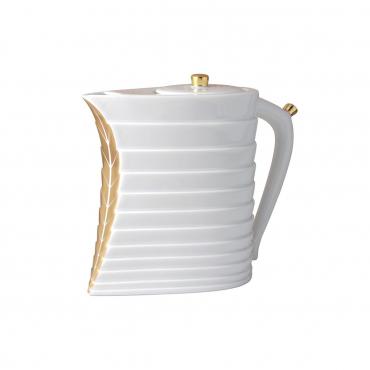 """Чайник """"Foglia"""", инкрустированный золотом, v 0,8 л"""