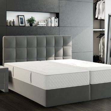 """Комплект кровать на матрас 180х200 см и прикроватная тумбочка """"Almeria"""", 45х45х50 см"""