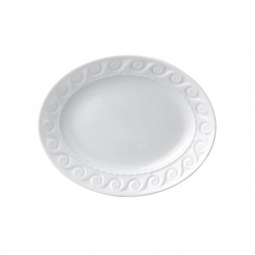 """Блюдо """"LOUVRE WHITE"""", 21х15 см"""