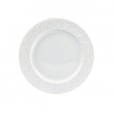 "Десертная тарелка ""LOUVRE WHITE"", d 19 см"