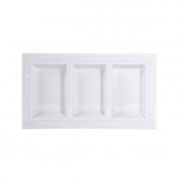 "Менажница ""Louvre White"", l 32.5 см"