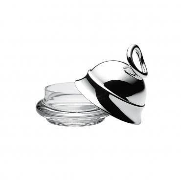 """Масленка персональная """"Vertigo"""", серебро, d 8 см"""