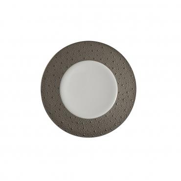 """Пирожковая тарелка """"Ecume"""", инкрустирована платиной, d 16 см"""