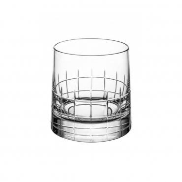 """Набор из двух винтажных бокалов для виски """"Графика"""", h 9 см"""