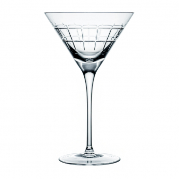 """Набор из двух бокалов для мартини """"Графика"""", h 18 см"""