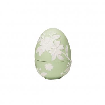 "Конфетница ""Egg"", зеленая, h 11 см"