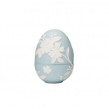 """Конфетница """"Egg"""", голубая, h 11 см"""
