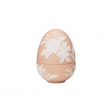 "Конфетница ""Egg"", розовая, h 11 см"