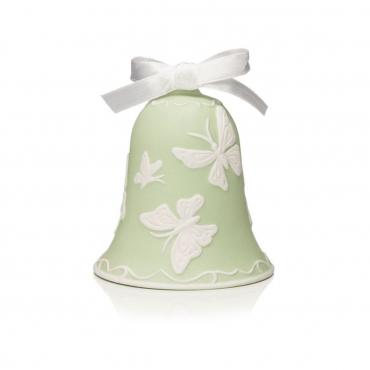 """Пасхальное украшение """"Bell"""", зеленая, h 9.5 см"""
