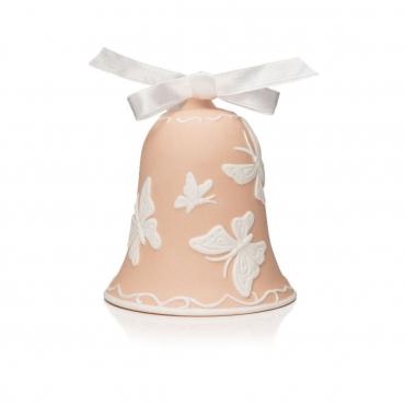 """Пасхальное украшение """"Bell"""", розовая, h 9.5 см"""