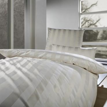 """Комплект постельного белья """"Como"""", коричневый, дамаст, евростандарт"""