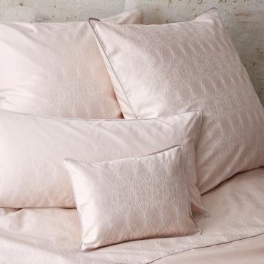"""Простыня """"Lace"""", розовая, дамаст, 260х280 см"""