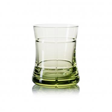 """Стакан для воды """"Cosmos"""", зеленый, h 10,5 см"""