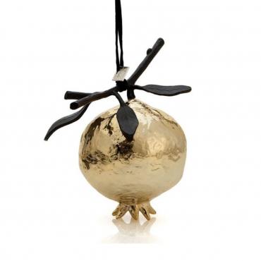 "Елочная игрушка ""Christmas Tree Toys"", золотая, h 10 см"