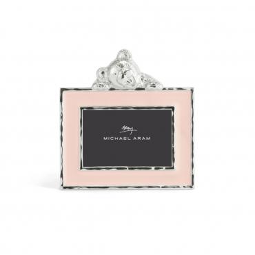 """Рамка для фото """"Teddy"""", розовая, 12х11,5 см"""