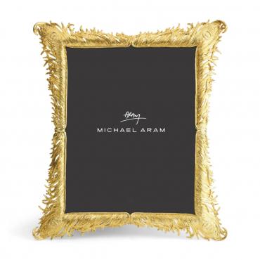 "Рамка для фото золотая ""Feathers "", 32х29 см"