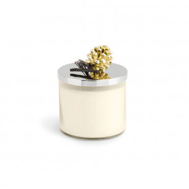 "Аромасвеча в стеклянном футляре с крышкой хвойная ""Softwood Candle"", h 11,5 см"