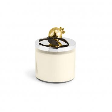 "Аромасвеча в стеклянном футляре с крышкой ""Pomegranate Candle"", h 11,5 см"