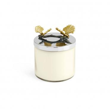 "Аромасвеча в стеклянном футляре с крышкой ""Butterfly Candle"", h 12 см"