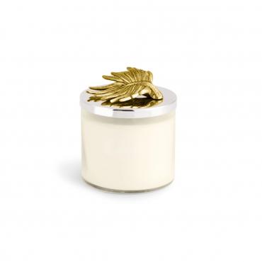 """Аромасвеча в стеклянном футляре с крышкой """"Palma Candle"""", h 11 см"""