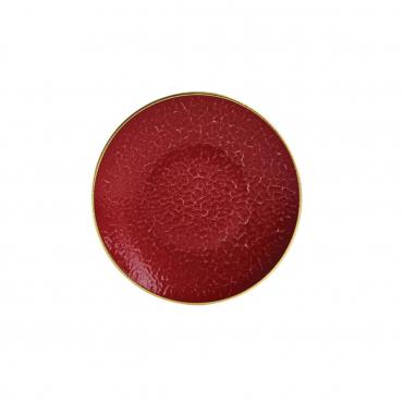 """Пирожковая тарелка """"Красный император"""", d 16 см"""