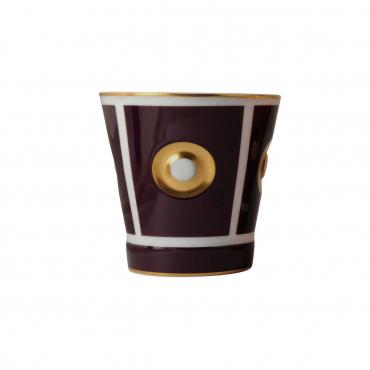 """Чашка инкрустированная золотом """"Эоли"""", v 0,25 л"""