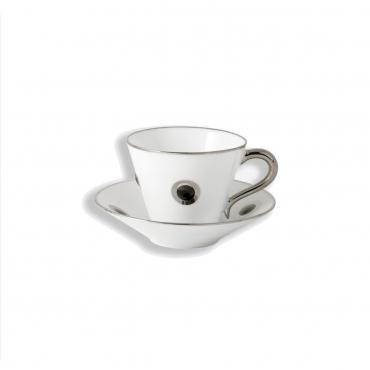 """Кофейная чашка с блюдцем """"Ithaque"""", v 0,13 мл"""