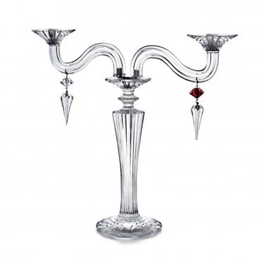 """Канделябр на две свечи """"Mille Nuits """", h 48 см"""