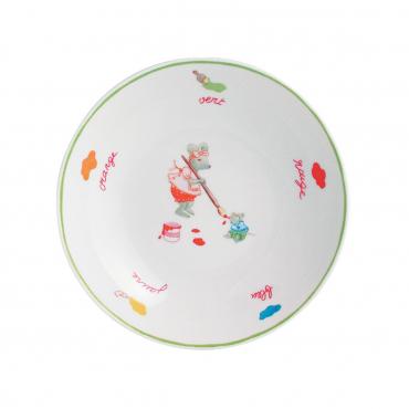 """Тарелка для супа """"Mice Will Play"""", d 19 см"""