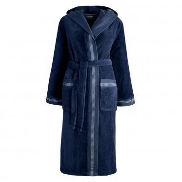 "Халат банный ""Couture"", синий, размер L"