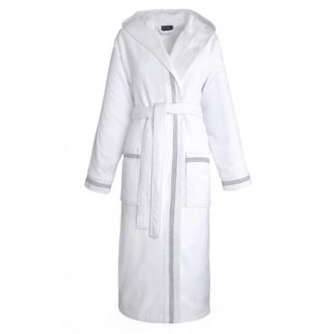 """Халат банный """"Couture"""", белый, размер S"""