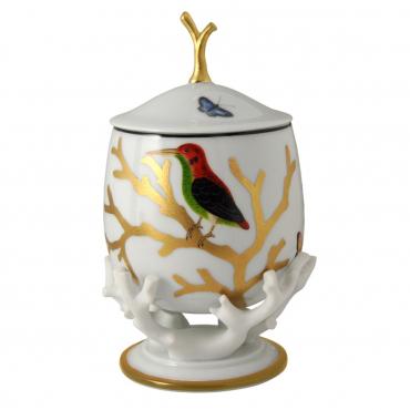 "Фарфоровая шкатулка ""Aux Oiseaux"", h 20 см"
