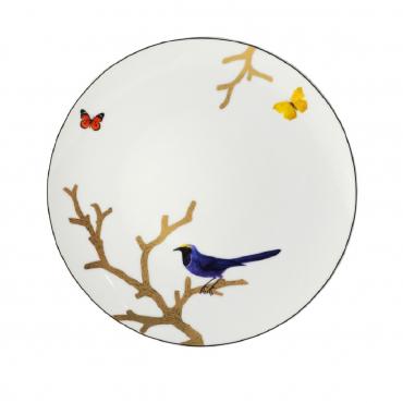 "Обеденная тарелка ""Aux Oiseaux"", d 26 см"