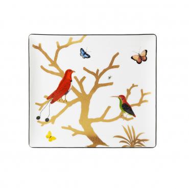 """Блюдо для пирожных """"Aux Oiseaux"""", 22x19,5 см"""