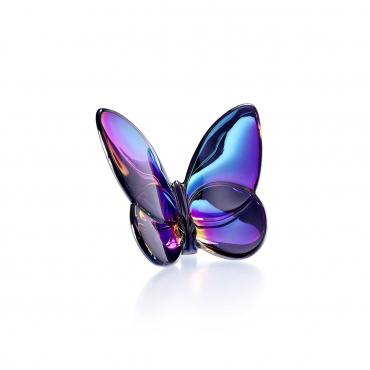 "Статуэтка ""Papillon Lucky Butterfly"" голубая, h 6,5 см"