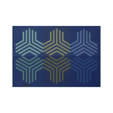 """Плейсмат жаккардовый """"Kaleidoscope"""", синий, 50X36 см"""