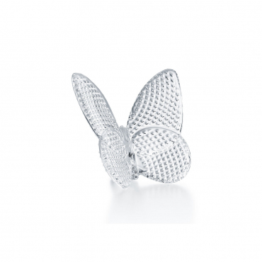 "Статуэтка ""Papillon Lucky Butterfly"" серебряная, h 6,5 см"
