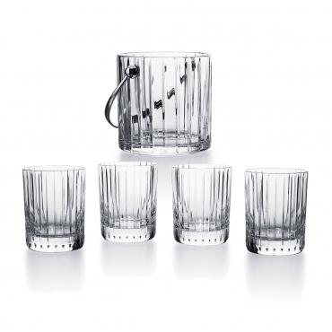 """Набор из четырех стаканов и ведерка для льда """"Гармония"""""""