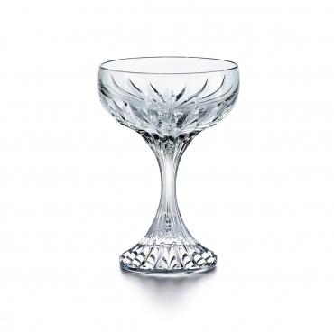 """Набор из двух бокалов - блюдец для шампанского """"Massena"""", h 13 см"""
