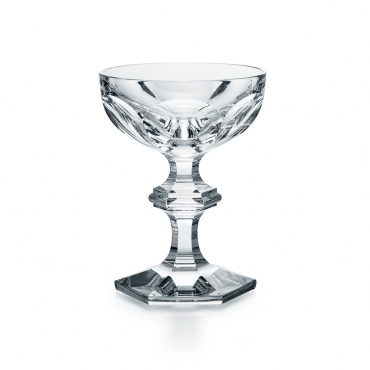 """Набор из двух бокалов - блюдец для шампанского """"Harcourt"""", h 13 cм"""