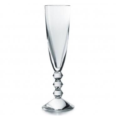 """Набор из двух низких бокалов для шампанского """"Вега"""", h 22,5 см"""