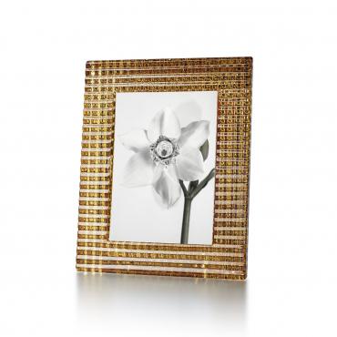"Рамка для фото ""Eye"", золотая, h 23 см"