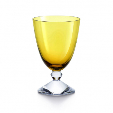 """Набор из двух бокалов """"Вега"""", хрусталь, v 0,29 л, цвет желтый"""