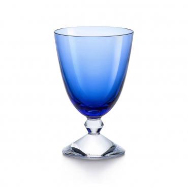 """Набор из двух бокалов """"Вега"""", хрусталь, v 0,29 л, цвет синий"""