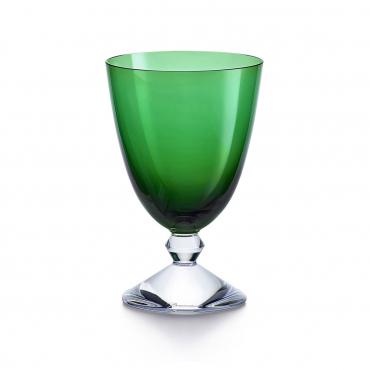 """Набор из двух бокалов """"Вега"""", хрусталь, v 0,29 л, цвет зеленый"""